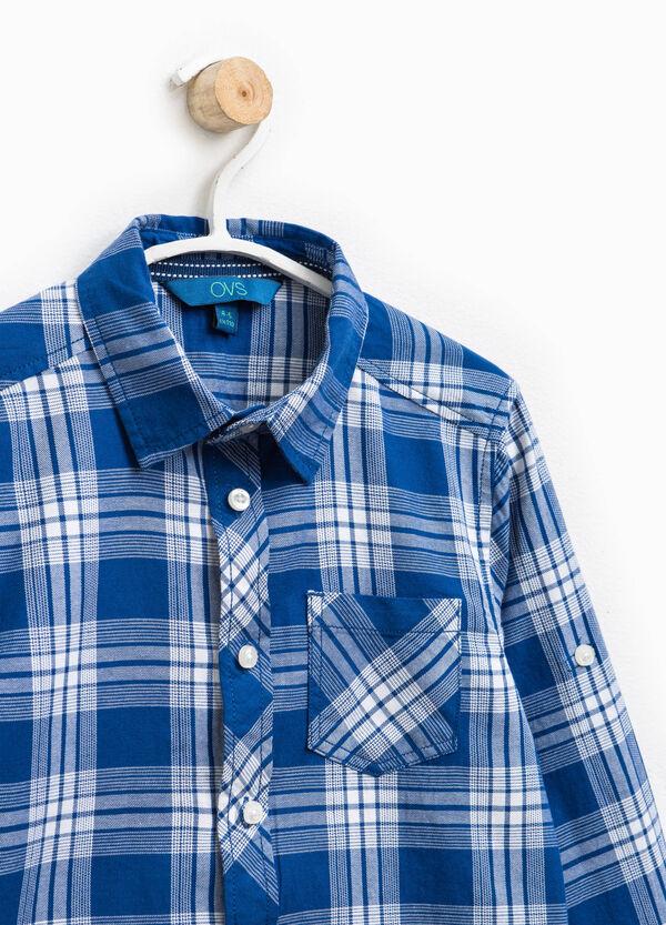 Camicia in puro cotone tartan   OVS