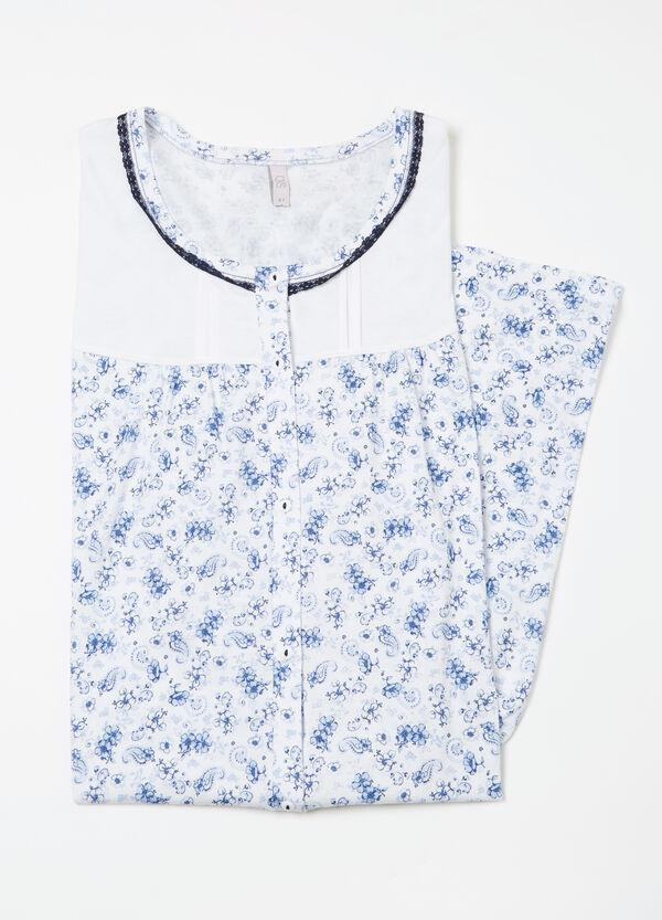 Curvy cotton nightshirt | OVS