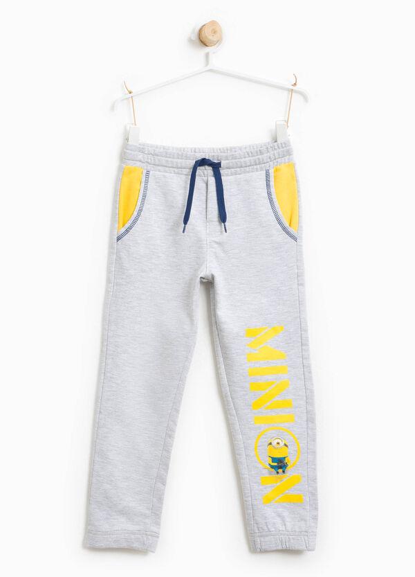 Pantaloni tuta in cotone stampa Minions | OVS