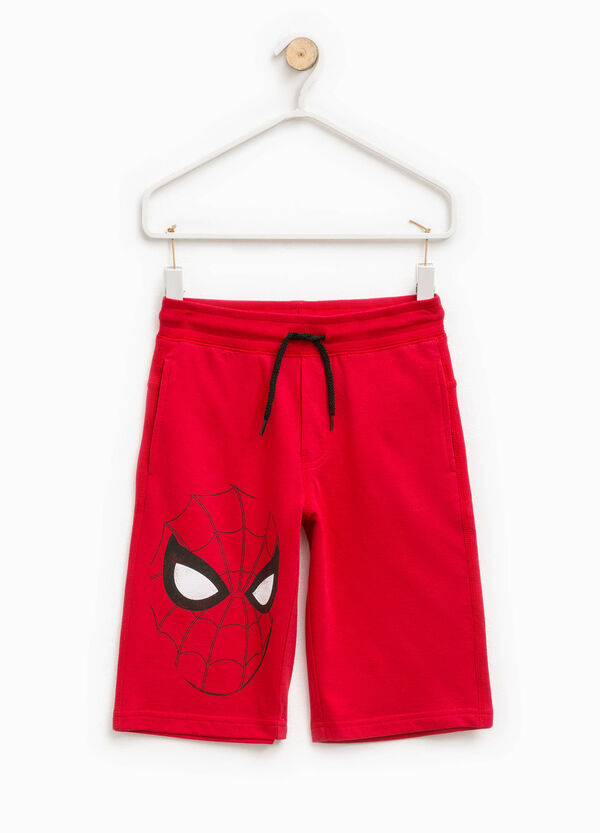 Bermuda shorts with Spiderman print | OVS