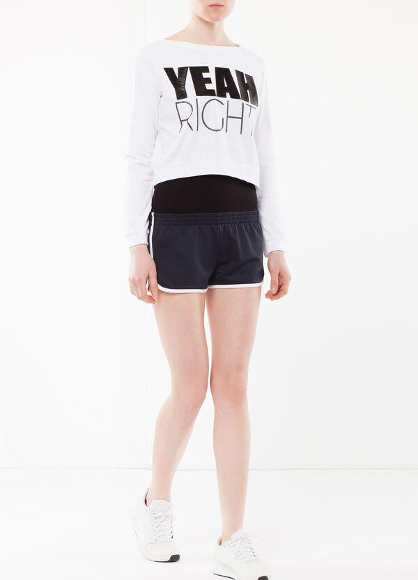 T-shirt corta maniche lunghe | OVS