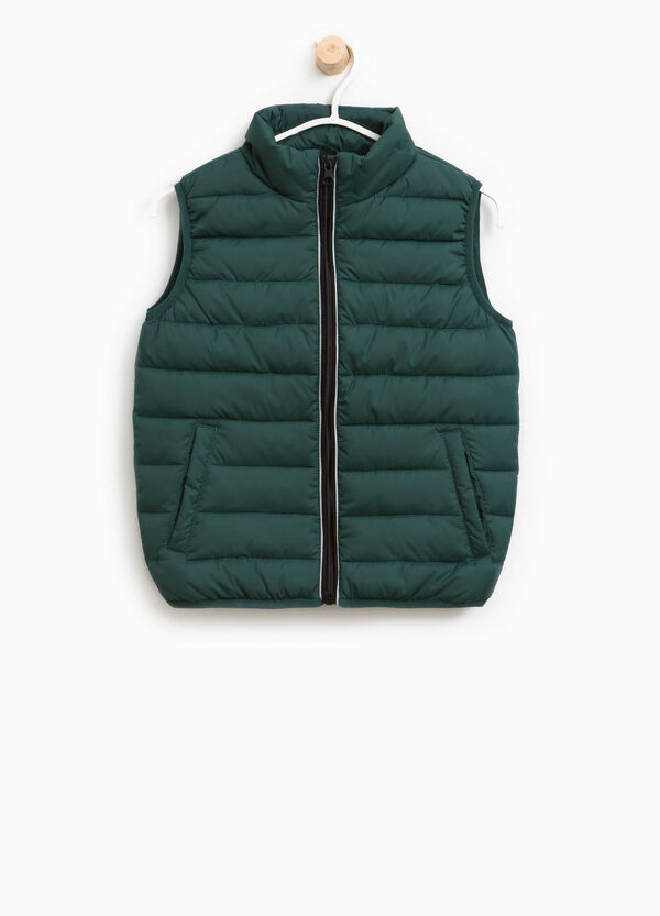 Quilted waistcoat with high collar   OVS