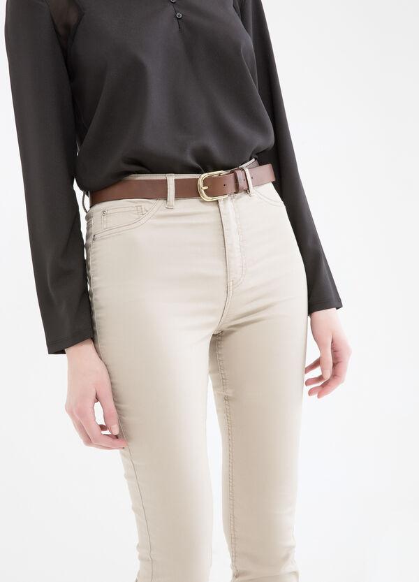 Pantaloni stretch vita alta | OVS