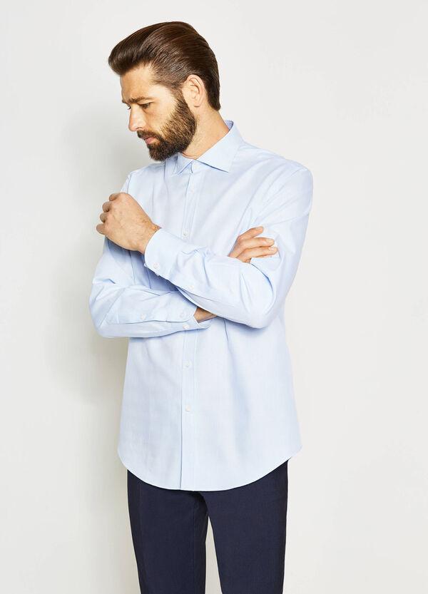 Regular-fit formal cotton shirt | OVS