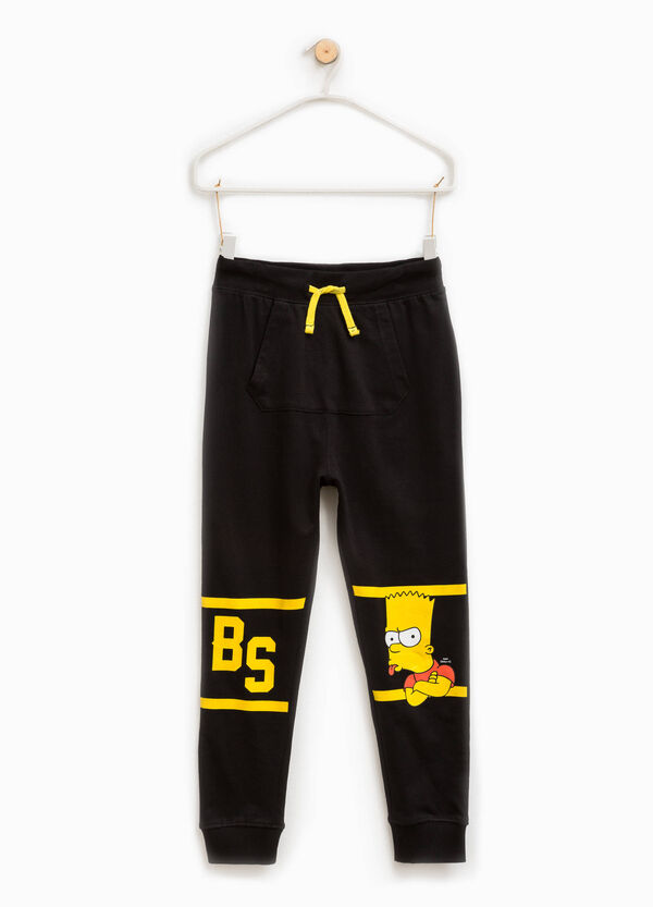 Trousers with The Simpsons print | OVS
