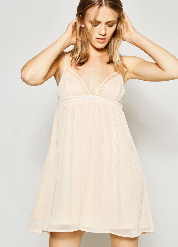Sleeveless V-neck dress   OVS