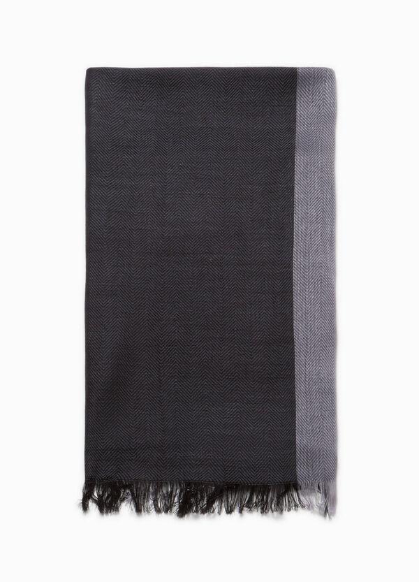 Striped scarf in 100% viscose | OVS