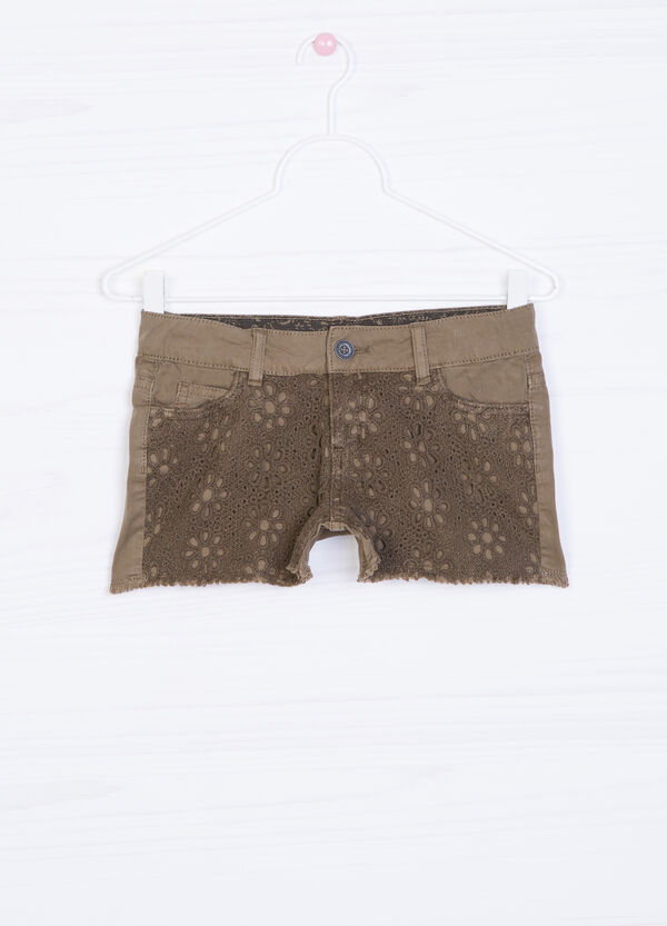 100% cotton shorts with insert   OVS