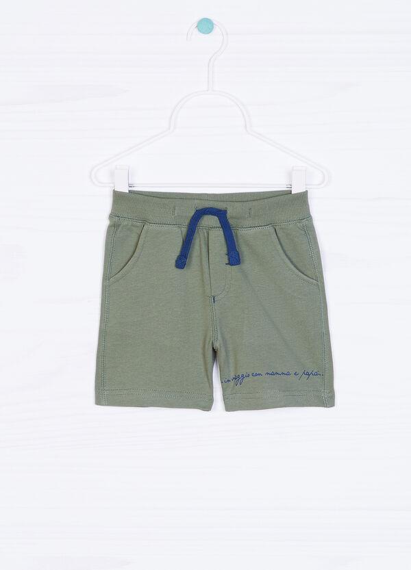 Pantaloni corti cotone con coulisse   OVS