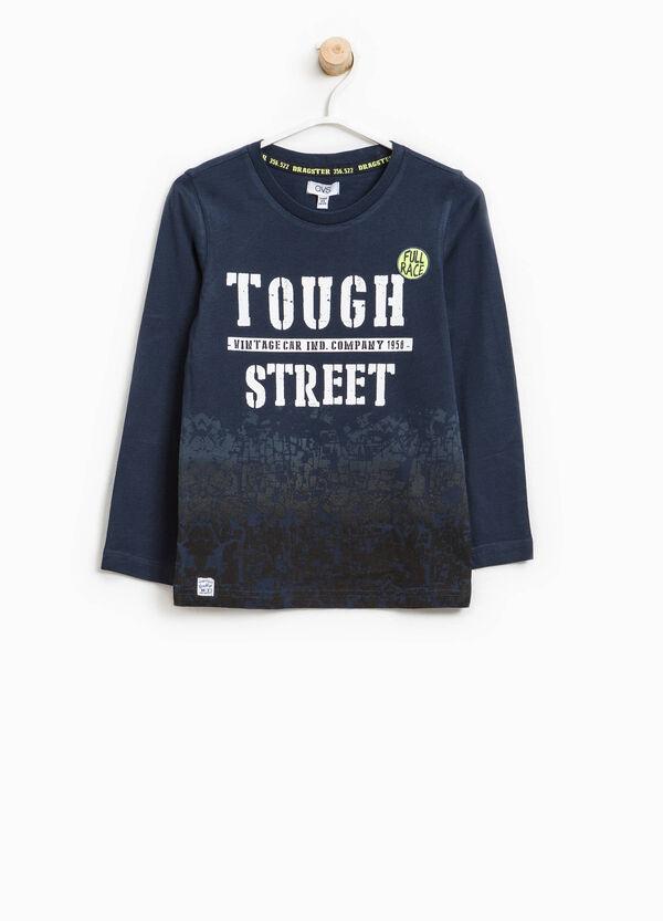 T-shirt puro cotone maxi stampa | OVS