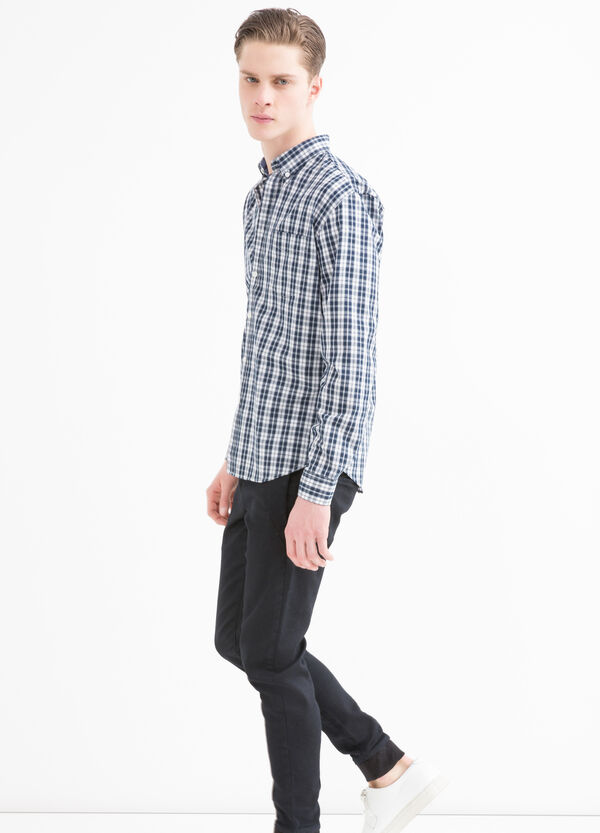 Camicia misto cotone tartan   OVS