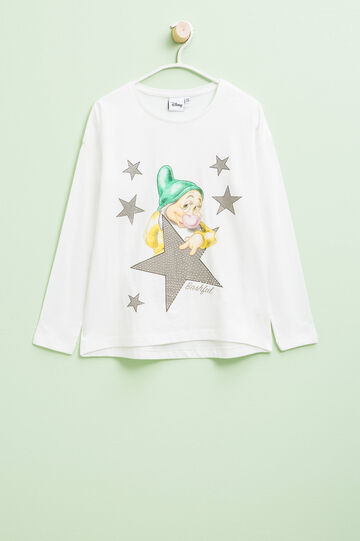 The Seven Dwarves print T-shirt with diamantés