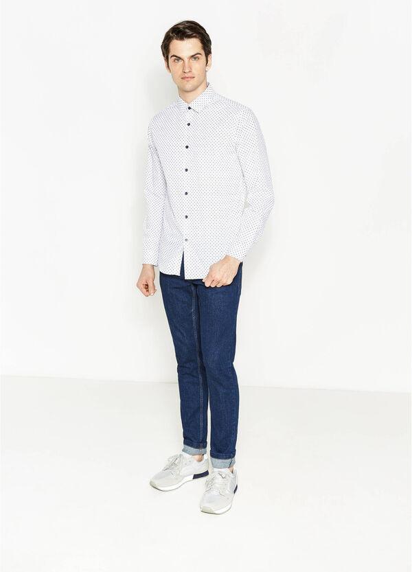 Camicia casual con stampa all-over   OVS