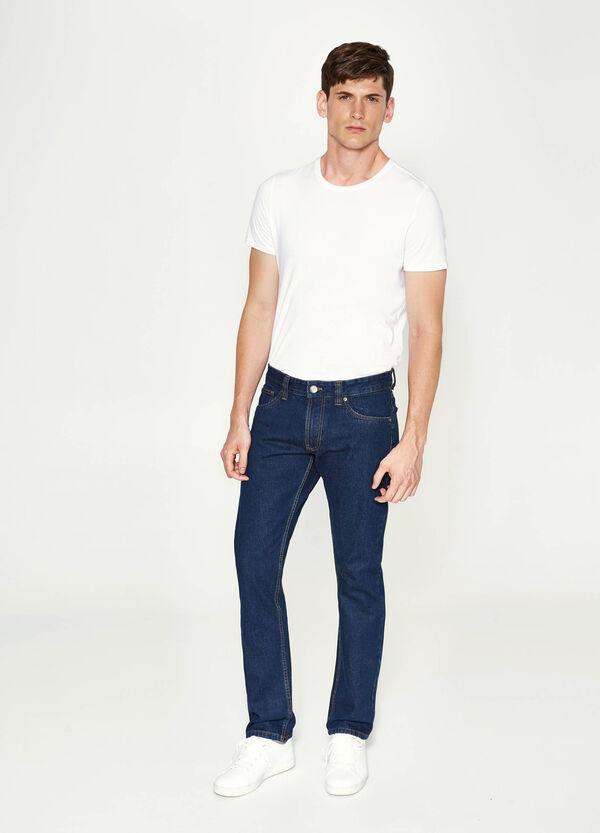 Jeans regular fit tinta unita | OVS
