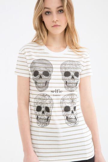 T-shirt puro cotone con stampa
