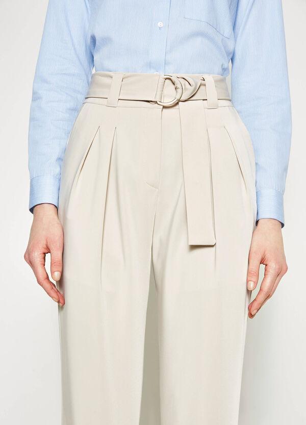 Pantaloni a vita alta stretch | OVS