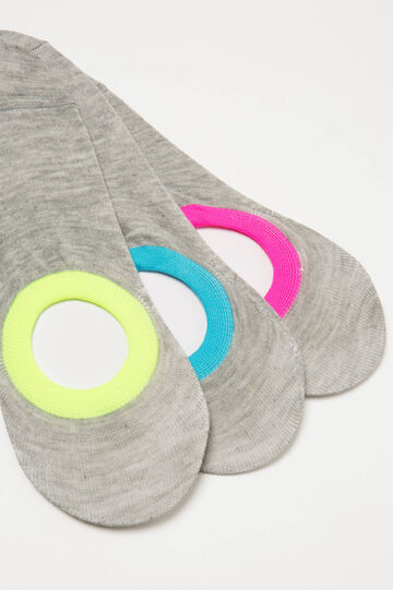 Three-pair pack stretch shoe liners