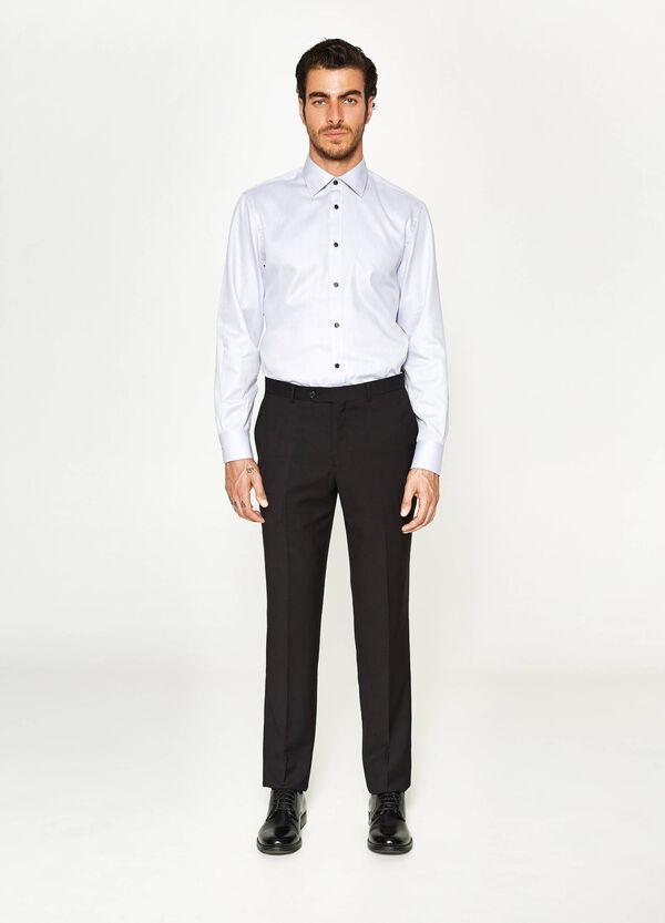 Regular-fit elegant viscose trousers | OVS