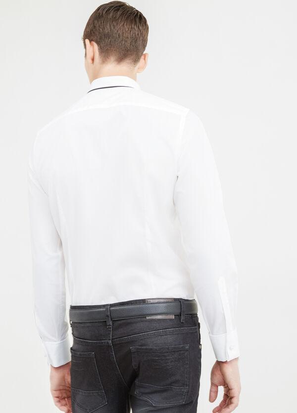 Camicia elegante slim fit doppio gemello | OVS