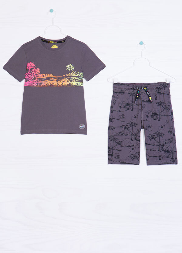 Shorts outfit by Maui and Sons   OVS