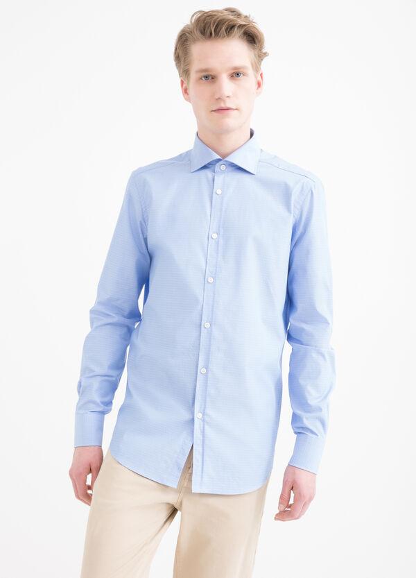 Slim-fit polka dot shirt   OVS