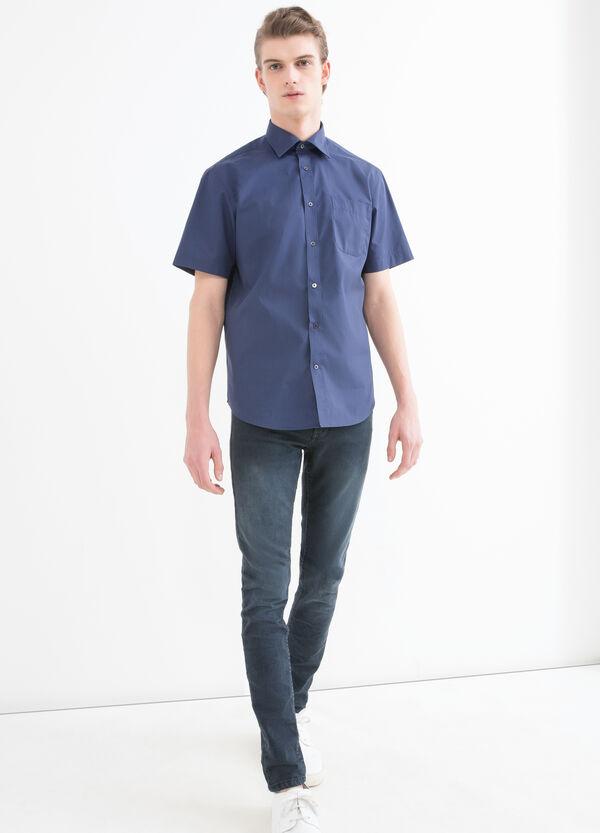 Camicia regular fit tinta unita | OVS