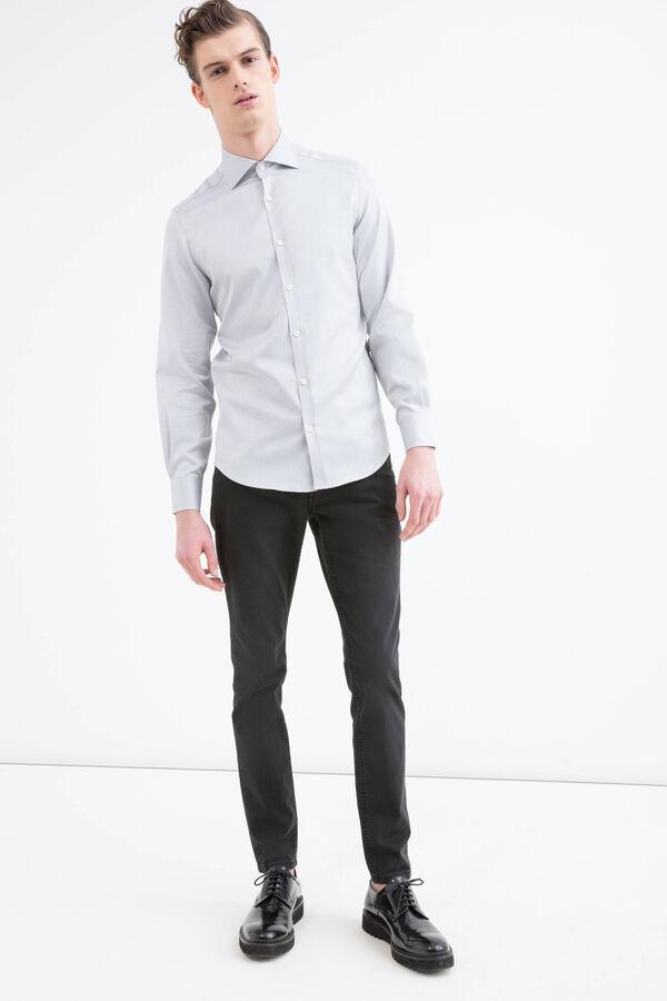 Camicia slim fit puro cotone   OVS