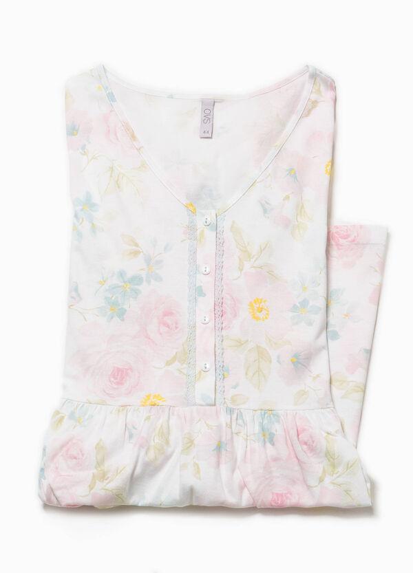 Camicia da notte fantasia floreale   OVS