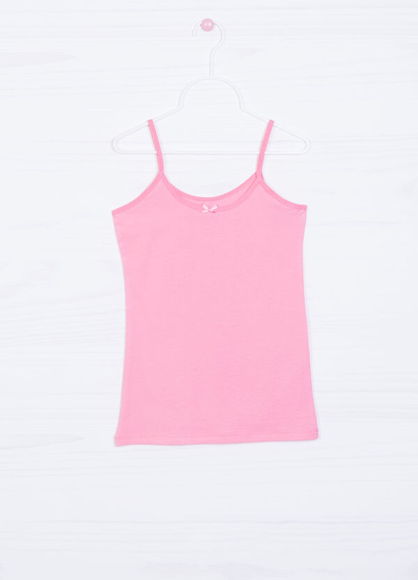 Stretch cotton undervest | OVS