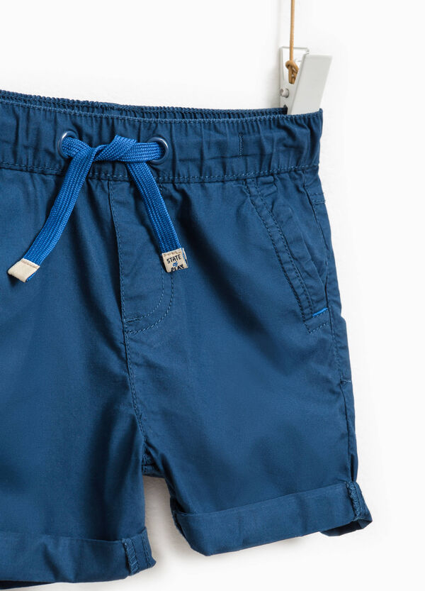 Pantaloncini in cotone con coulisse   OVS