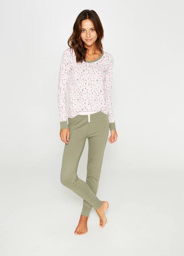 Star pattern cotton pyjamas | OVS