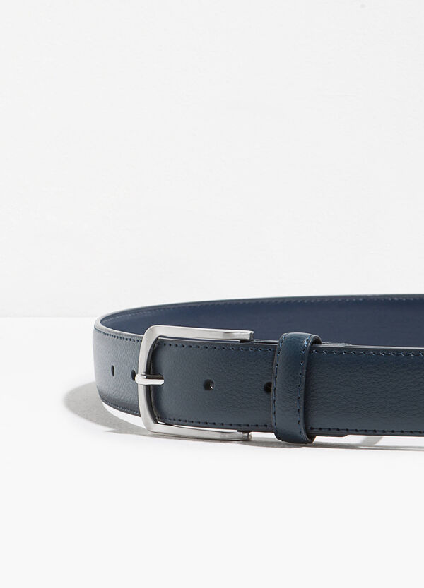 Textured-effect belt with single loop | OVS