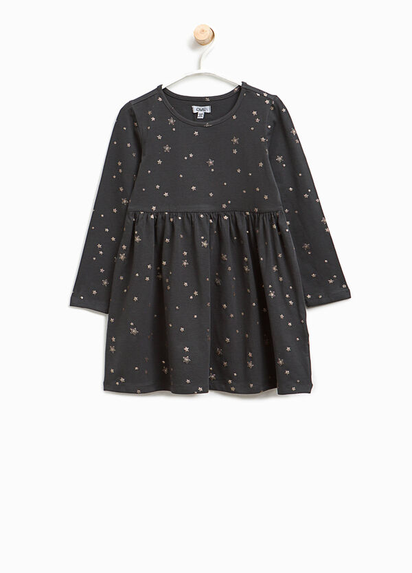 Star dress in stretch cotton | OVS