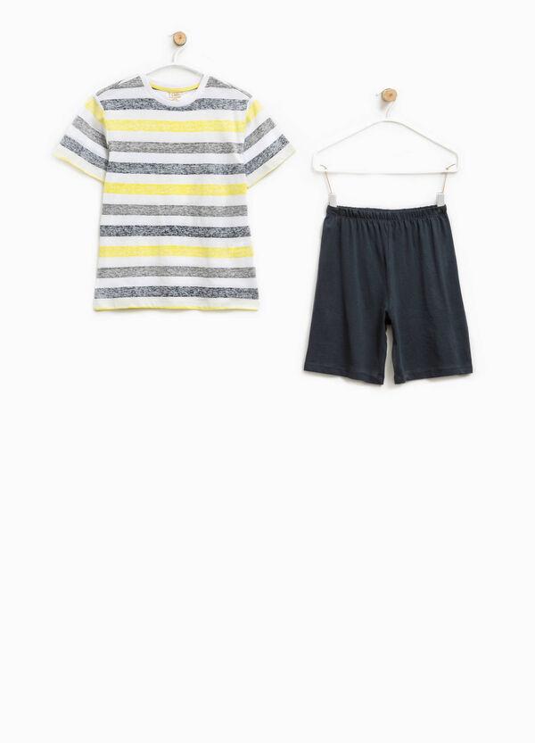 100% Biocotton pyjamas with stripes | OVS