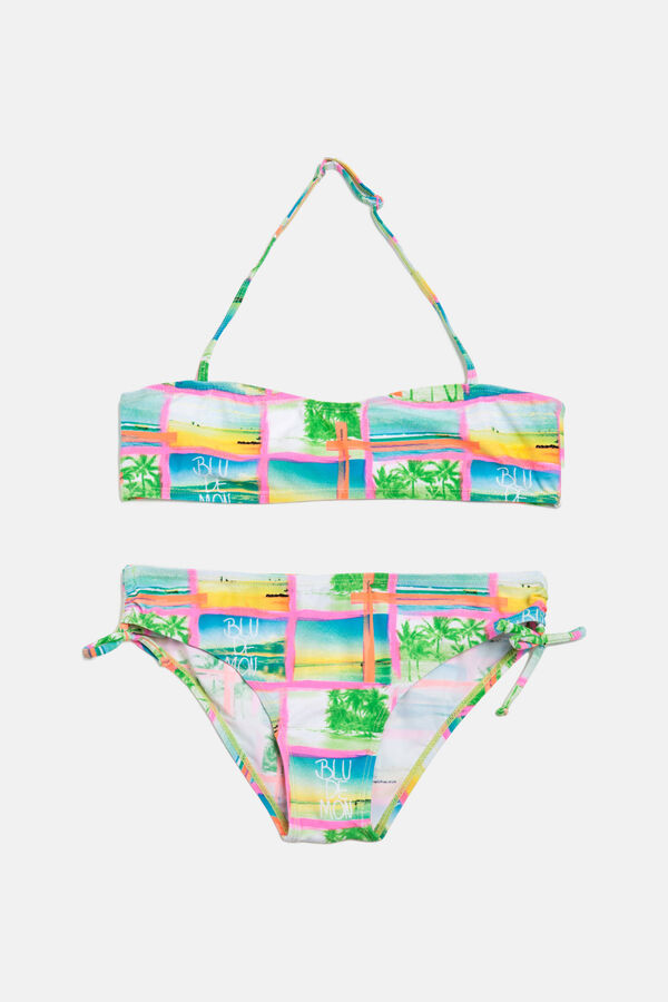 Bikini stretch stampa all-over   OVS