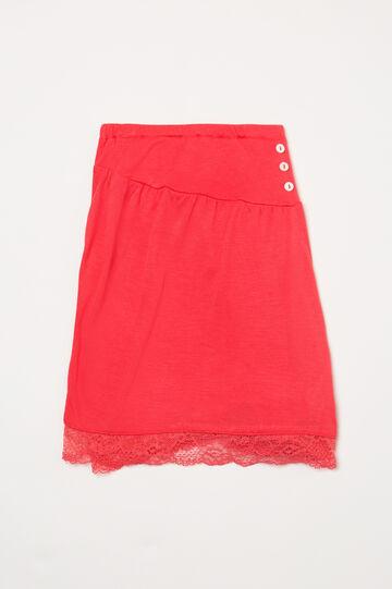 Shorts pigiama viscosa con pizzo