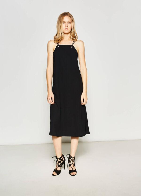 Sleeveless longuette dress | OVS