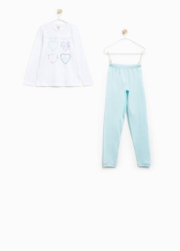 100% Biocotton pyjamas with print   OVS