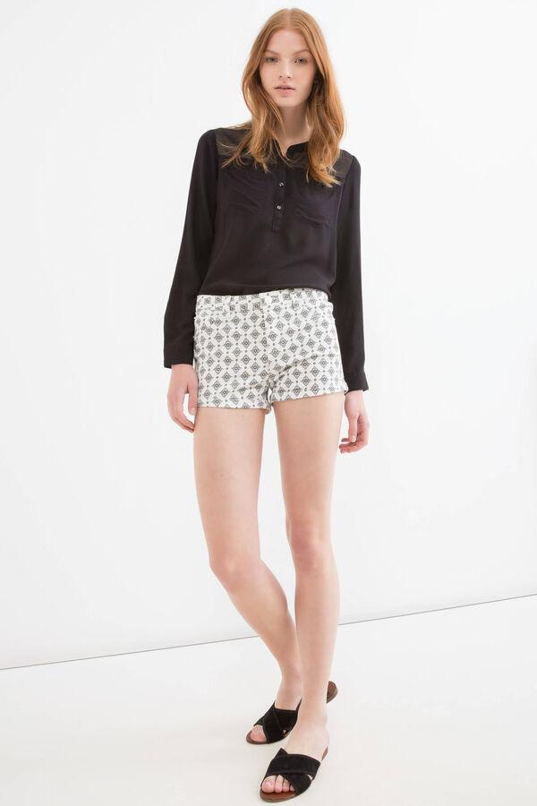 5-pocket stretch shorts | OVS