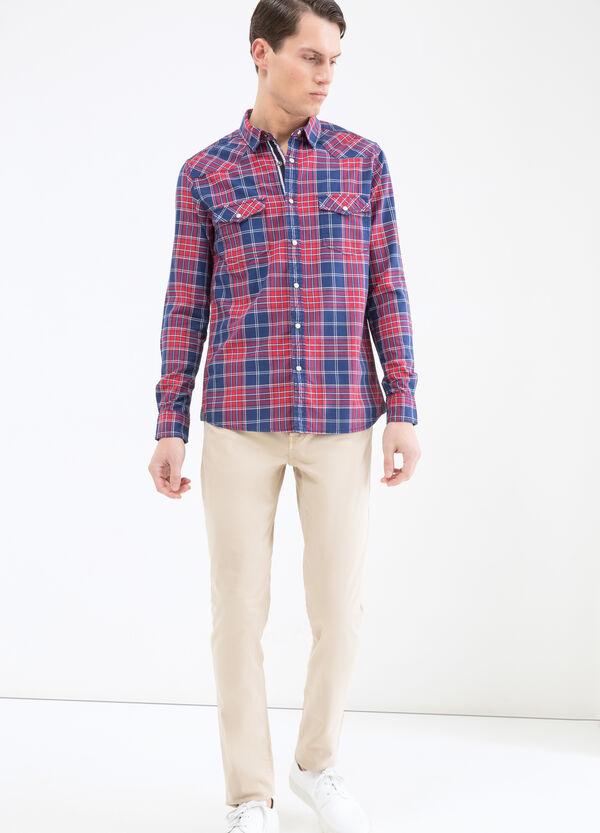 Camicia puro cotone tartan G&H   OVS