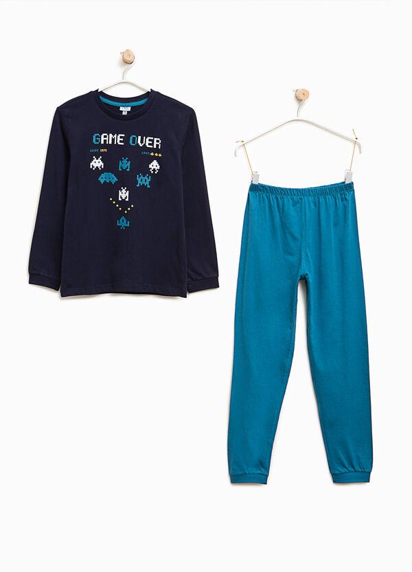 Organic cotton Space Invaders pyjamas | OVS