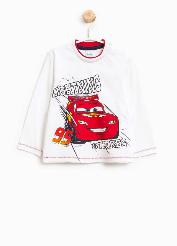 T-shirt in 100% cotton with Cars print | OVS