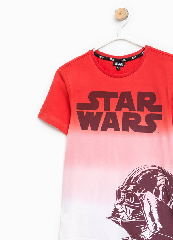 T-shirt degradé con stampa Star Wars | OVS