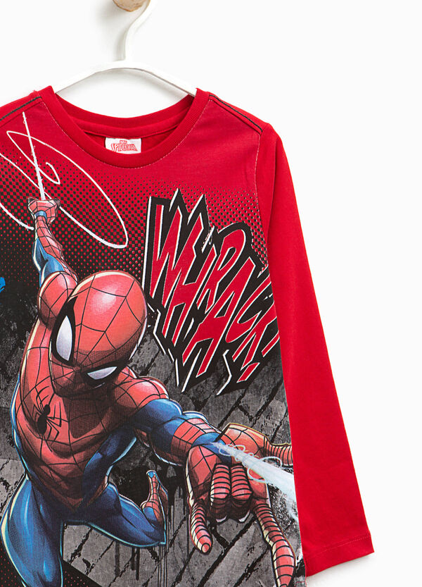 T-shirt with maxi Spiderman print | OVS