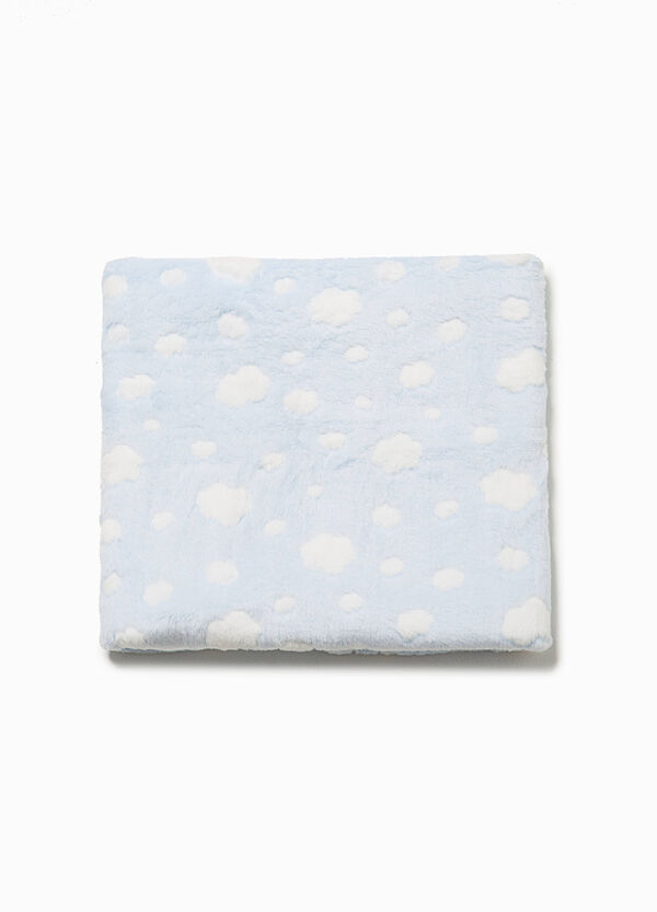 Crib blanket with clouds pattern | OVS