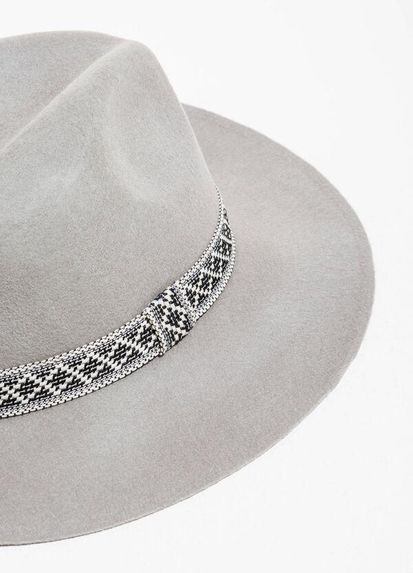 Cappello a falda larga in lana | OVS
