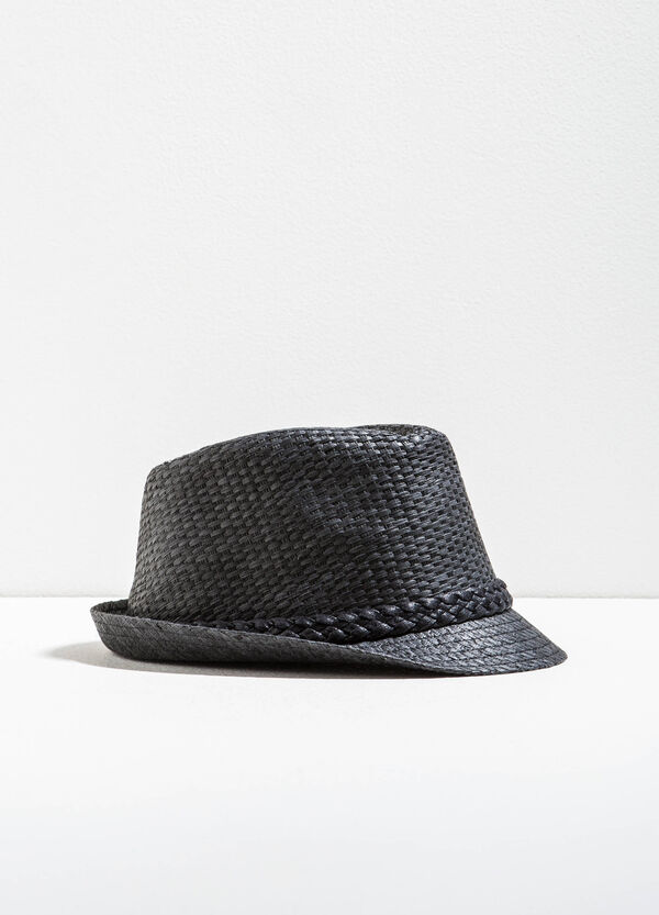 Straw hat with braided band | OVS