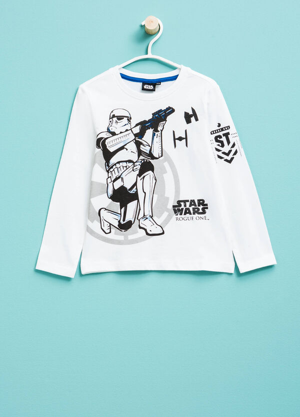 T-shirt in cotone con stampa Star Wars | OVS