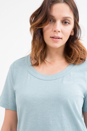 T-shirt in puro cotone Curvy