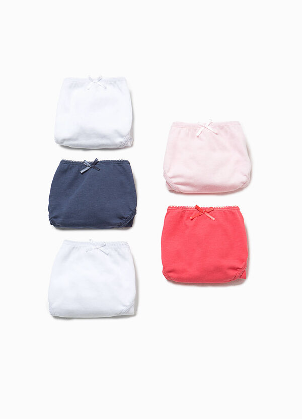 Five-pack briefs with bow | OVS